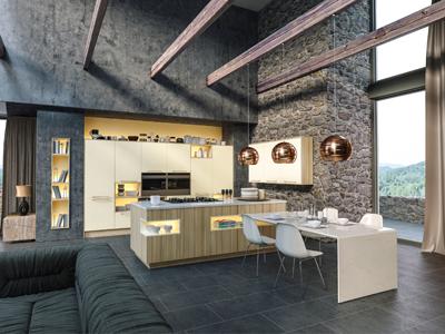 Alabaster Coco Bolo Kitchen