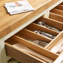 Harwood Ivory Drawer Detail