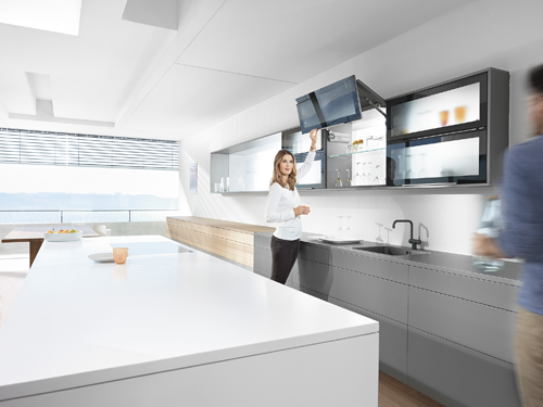 AVENTOS HF - ideal for high wall cabinets