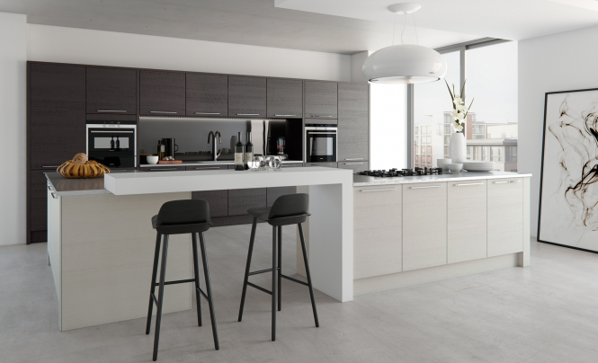 TAVOLA Hacienda Black & Light Grey