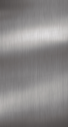 Zurfiz Brushed Metal Stainless Steel